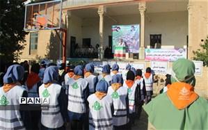 پیش اردوی ملی سازمان دانش آموزی استان چهارمحال وبختیاری برگزار شد