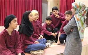 برگزاری دوره آموزشی انجمن هنرهای نمایشی اسلامشهر جهت کودکان و نوجوانان