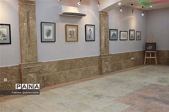 نمایشگاه نقاشی هنرمندان سپید درنگارخانه هنر اسلامشهر