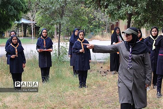 پیش اردوی ملی دانشآموزان دختر تشکل پیشتازان البرز