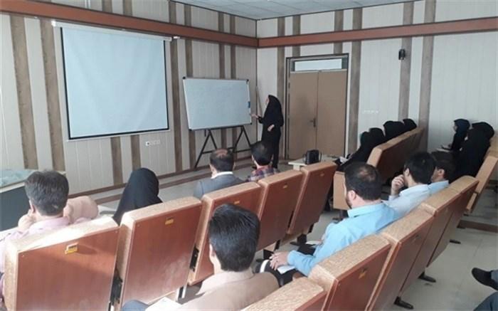 دوره آموزش کمک های اولیه در سوانح و حوادث در اداره کل آموزش و پرورش استان همدان