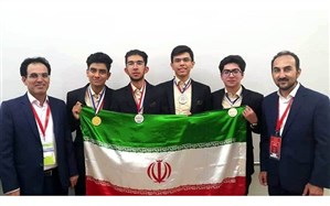 آیین استقبال از دو دانش آموز افتخار آفرین استان خراسان رضوی در المپیادهای جهانی شیمی و زیست شناسی