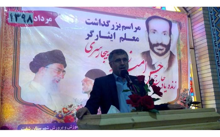 حرکت فداکارانه حسن امیدزاده متاثر از زمینه های قوی مذهبی و فرهنگی او بود.