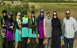 حضور ۱۵ دختر قایقران آذربایجانغربی در اردوی آمادگی المپیاد کشوری