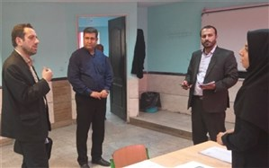 بازدید از  روند اجرای پروژه مهر در مدارس پاکدشت