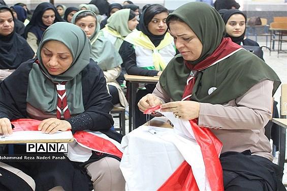 اردوی  استانی  دانش آموزان پیشتاز دختر استان بوشهر -۱