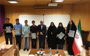 دیدار رئیس مرکز ملی پرورش استعدادهای درخشان با دانشآموزان یزدی راهیافته به مرحله کشوری المپیادهای علمی