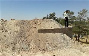 دو قطعه زمین به ارزش دو میلیارد و ششصد میلیون ریال در البرز رفع تصرف شد