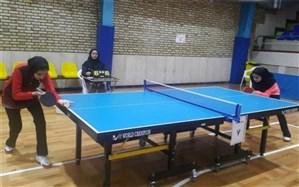 نتایج مسابقات انفرادی و دوبل تنیس روی میز دانشآْموزان دختردر اصفهان