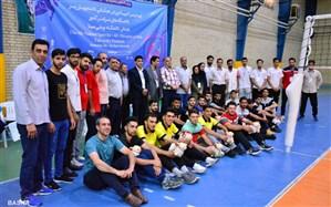 دانشگاه فنی و حرفهای مازندران صدرنشین  مسابقات والیبال چهار نفره دانشجویان کشور شد