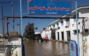 تعمیر ۱۲۶ مدرسه در مناطق سیلزده گلستان/افتتاح ۱۶۰ کلاس درس تا قبل از مهرماه امسال