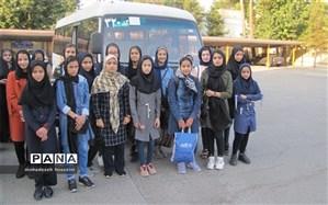20 نفر دانش آموزدختر نظرآبادی به اردوی کشوری طرح علوی اعزام شدند