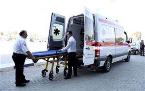 رسیدگی اورژانس شیراز به هشت مصدوم سانحه حریق هتل آسمان