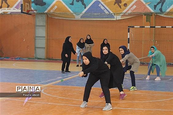 المپیاد ورزشی روستایی و عشایری استان بوشهر جام خوشه چین مرحله استانی بانوان