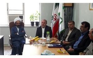 آیین تکریم و معارفه رئیس سازمان دانش آموزی استان قزوین