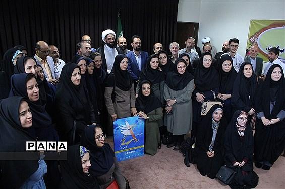 دیدار امام جمعه همدان با اصحاب رسانه به مناسبت هفته خبرنگار