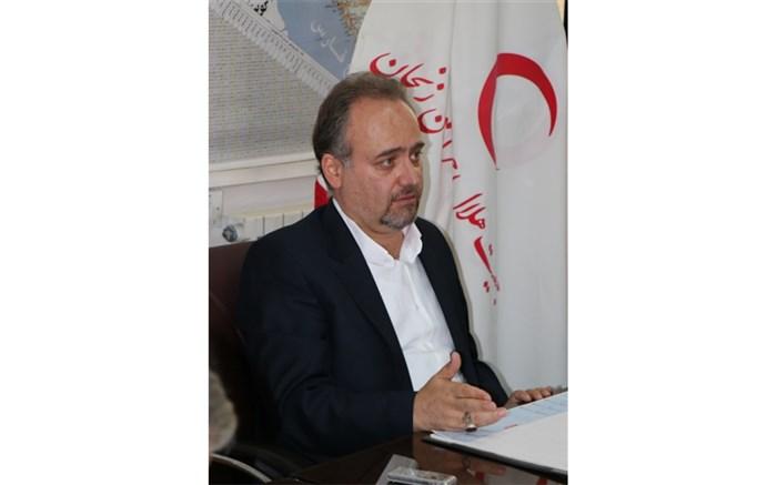 مدیر کل جمعیت هلال احمر استان زنجان