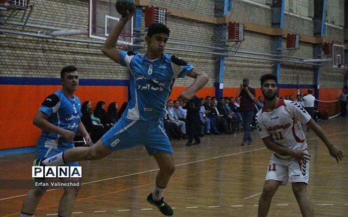 فینال مسابقات دانش آموزی پایه اول متوسطه سراسری کشور در رشته هندبال