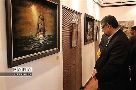 افتتاح نمایشگاه «باغ خیال دو» در شهرستان بیرجند
