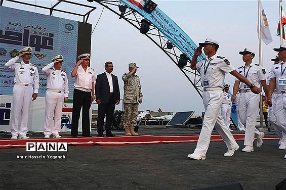 افتتاحیه  مسابقات عمق غواصی نیروهای مسلح جهان در  کیش