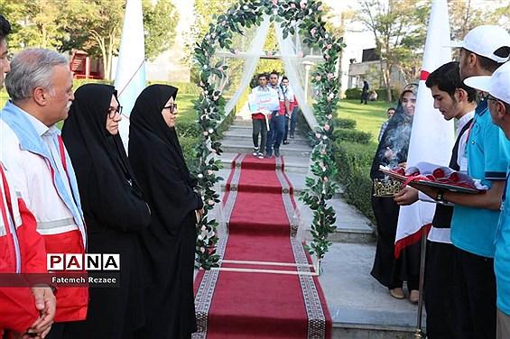 مراسم افتتاحیه  اردوی «نشاط و امید» پسران شمالغرب کشور به میزبانی زنجان