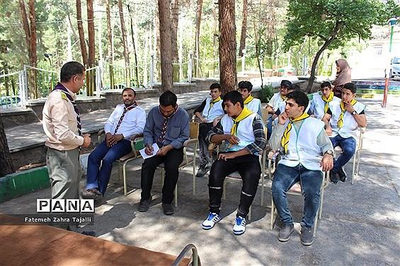 اردوی دانشآموزان پسر پیشتاز شهرستان شاهرود-1