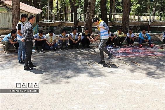 اردوی دانشآموزان پسر پیشتاز شهرستان شاهرود- 2
