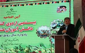 سرپرست وزارت آموزش و پرورش: اردوی عشایر زمینهساز ایجاد عدالت آموزشی است