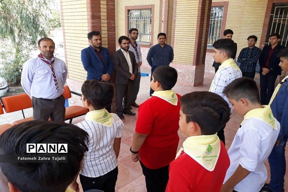 اردوی دانشآموزان پیشتاز پسر شهرستان گرمسار