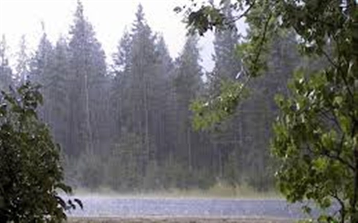بارش باران و کاهش محسوس دمای هوا در گیلان