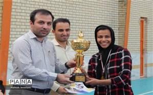 درخشش تیم  شهرستان تنگستان در  مسابقات فوتسال بانوان جام خوشه چین