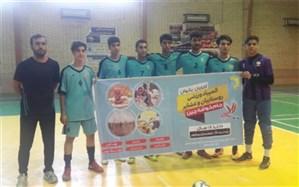 تیم فوتسال  شهرستان دشتستان مقام اول جام خوشه چین  را بدست آورد