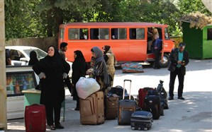 اعزام دانش آموزان پیشتاز دختر کهگیلویه و بویراحمد به تهران جهت شرکت در اردوی ملی