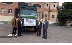 ارسال دو کامیون هدایای غیرنقدی فرهنگیان ودانش آموزان اردبیلی به مناطق سیلزده استان خوزستان