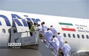 بازگشت ۲۴۲۶ حاجی از فرودگاه مدینه