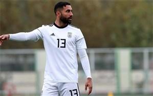 سامان قدوس:عاشق بازی برای تیم ملی ایران هستم