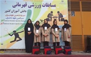 کسب یک مقام دومی درشطرنج  و دریافت کاپ اخلاق توسط تیم بدمینتون دختران دانش آموز یزد