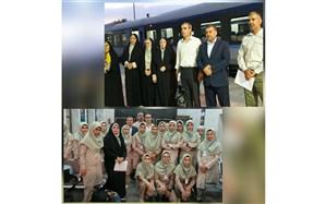 دانش آموزان پیشتاز دختر به اردوگاه شهید باهنر تهران اعزام شدند