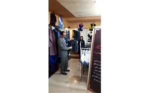 بازدید تیم سازمان دانش آموزی از تولیدی های لباس فرم مدارس