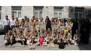 دانش آموزان پیشتاز دختر استان البرز به اردوی ملی اعزام شدند