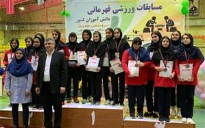 دانش آموزان دختر فارس قهرمان  مسابقات شطرنج  آموزشگاههای کشور شدند