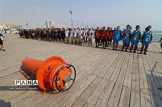 سومین روز مسابقات عمق غواصی نیروهای مسلح جهان در کیش