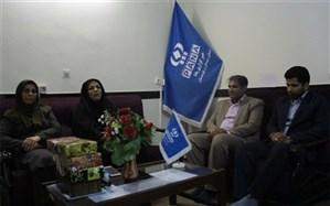 مدیرکل کانون پروش فکری کودکان سیستان و بلوچستان با حضور در خبرگزاری پانا روز خبرنگار را تبریک گفت