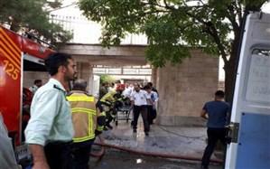 حادثه آتش سوزی منطقه ابیوردی ۸ مصدوم بر جای گذاشت