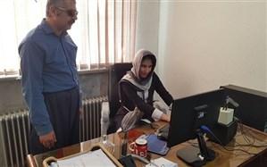 برگزاری دوره آموزشی کار با رایانه ویژه دانش آموزان دارای آسیب بینایی