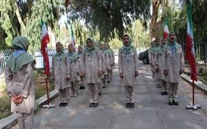 کسب نخستین پرچم نظم و قانونمداری اردوی ملی