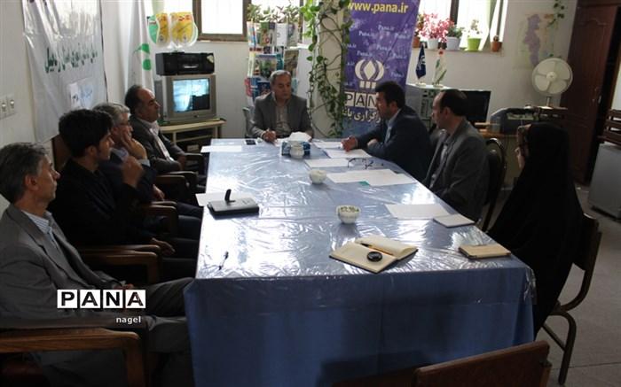 جلسه شورای برنامهریزی سازمان دانشآموزی استان  اردبیل