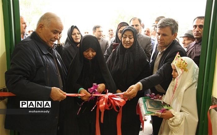 افتتاح مدرسه سه کلاسه روستای عموقین دراردبیل
