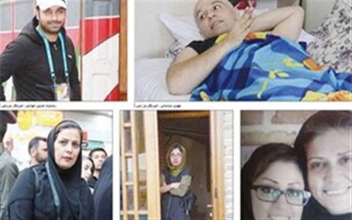 خبرنگارانی که با بیماری جنگیدند