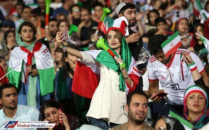 ورود زنان به ورزشگاهها